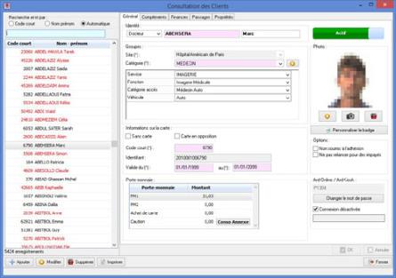 logiciel controle acces